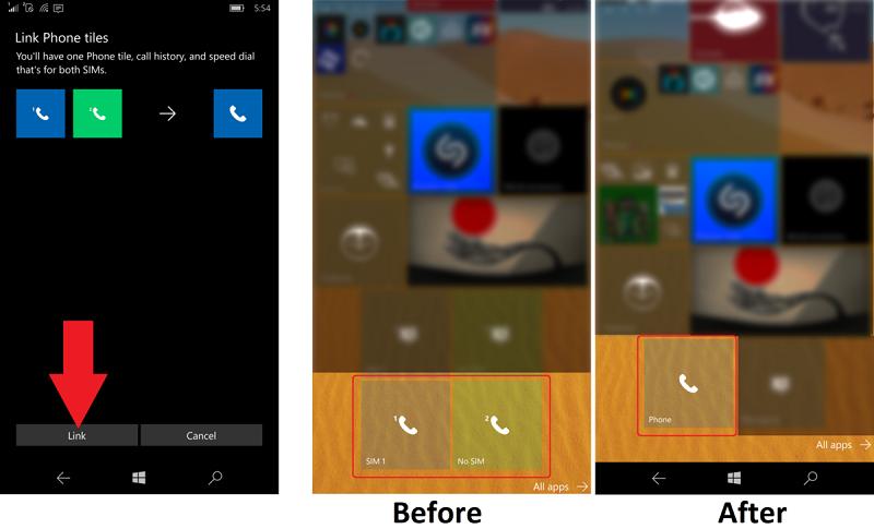 چطور در گوشی های دو سیم کارت کاشی Phone و Message را باهم ادغام کنیم