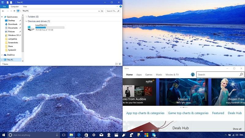 ترفندی عالی برای کار با قابلیت Snap View در ویندوز ۱۰