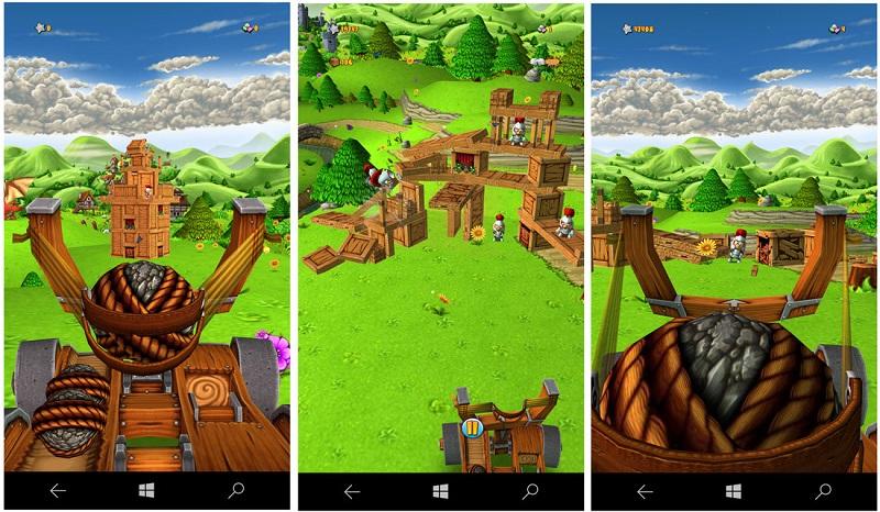 بازی Catapult King تنها امروز رایگان شده است!