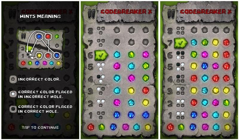 بازی Codebreaker X یا همان فکر و بکر برای ویندوز ۱۰ به صورت یونیورسال!