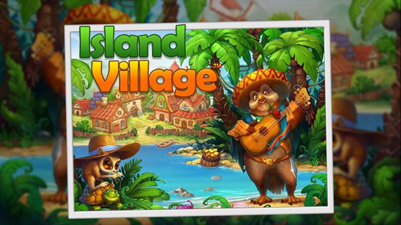 بازی گرافیکی سرگرم کننده Island Village برای ویندوز ۱۰ موبایل شما!