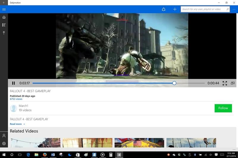 نسخه یونیورسال برنامه مشاهده و اشتراک گذاری ویدیو Dailymotion منتشر شد.