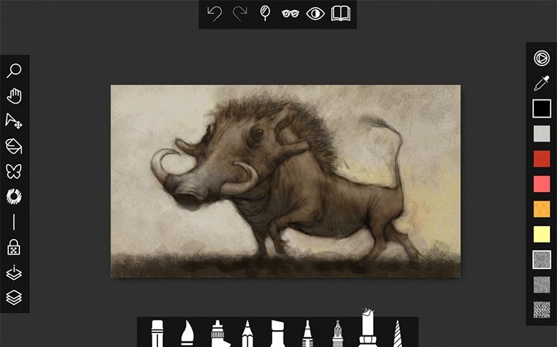 Sketchable برنامه ای حرفه ای برای طراحی و نقاشی در ویندوز ۱۰ شما