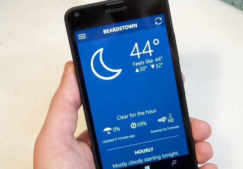 Blue Skies برنامه آب و هوا شناسی به صورت یونیورسال منتشر شد!