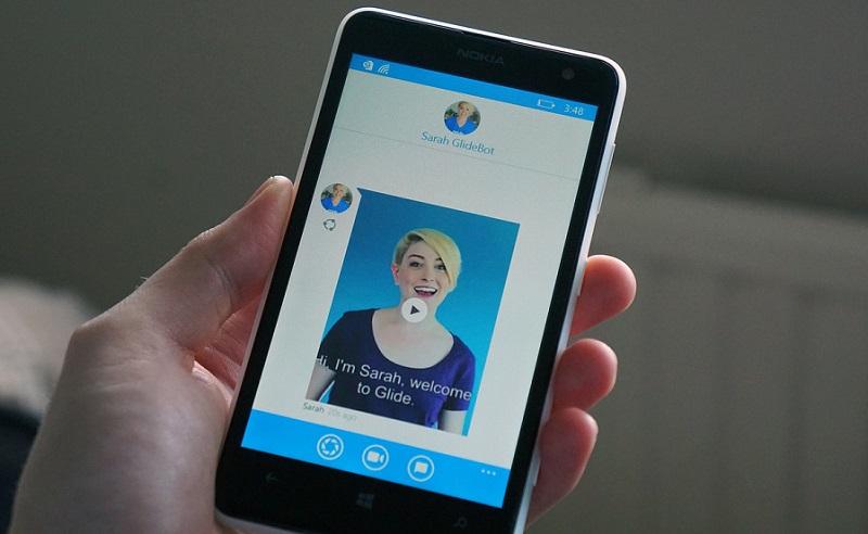 ویدیو چت مسنجر Glide به صورت رسمی برای ویندوز ۱۰ موبایل منتشر شد.