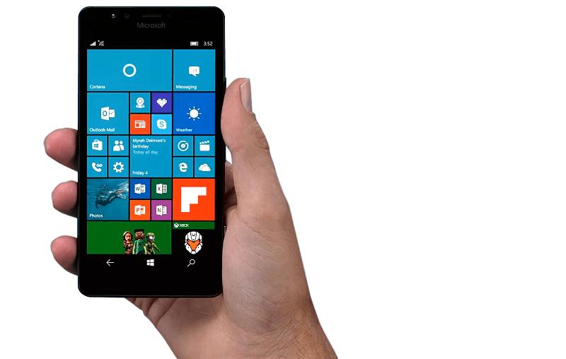 Windows 10 Mobile build 10586.107 به صورت رسمی برای ۹۵۰، ۹۵۰XL و ۵۵۰