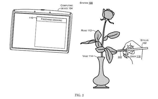 ثبت اختراعی فوق العاده توسط مایکروسافت! قلم سرفیس با امکان حس رنگ!