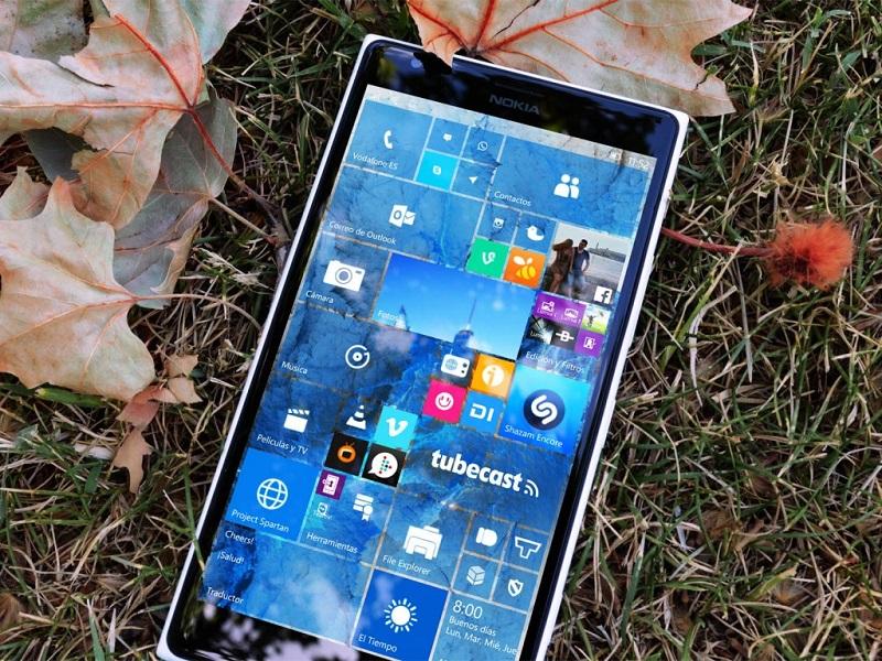 ویندوز ۱۰ موبایل برای گوشی های ویندوزفون ۸٫۱ منتشر شد.
