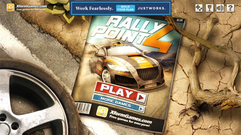 بازی یونیورسال Rally Point 4 برای علاقه مندان رالی به صورت رایگان