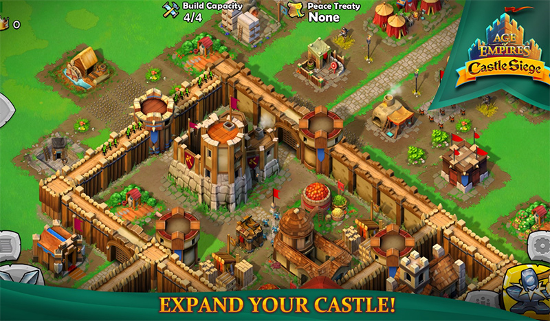 بازی محبوب Age of Empires®: Castle Siege بروزرسانی شد