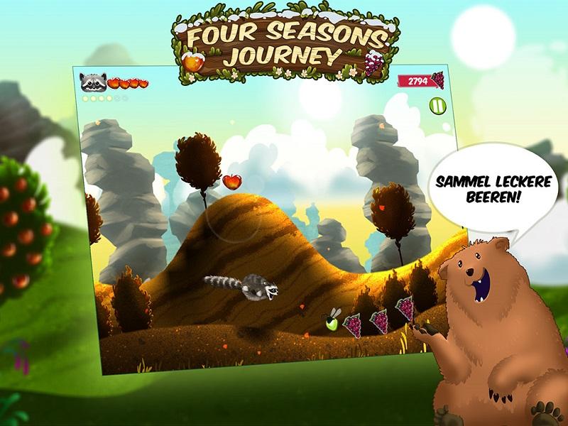 بازی جذاب و یونیورسال Four Seasons Journey برای PC، تبلت و موبایل شما!