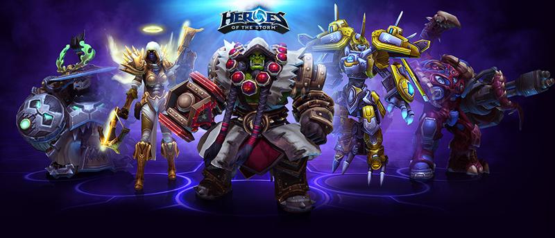 Heroes of the Storm یک بازی استراتژی آنلاین فوق العاده از کمپانی Blizzard