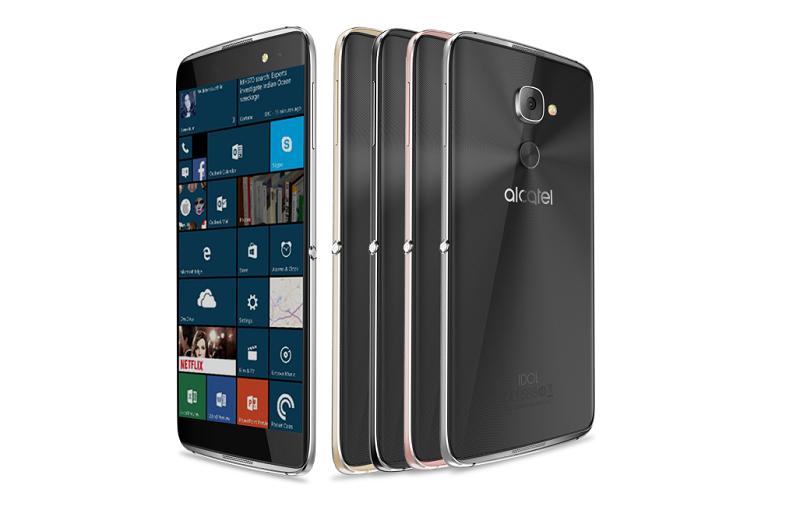 گوشی قدرتمند Alcatel با نام Idol 4S with Windows 10 بزودی منتشر می شود.
