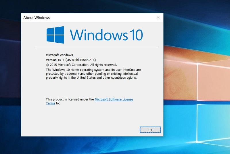 Windows 10 build 10586.218 به صورت رسمی برای موبایل و PC منتشر شد.