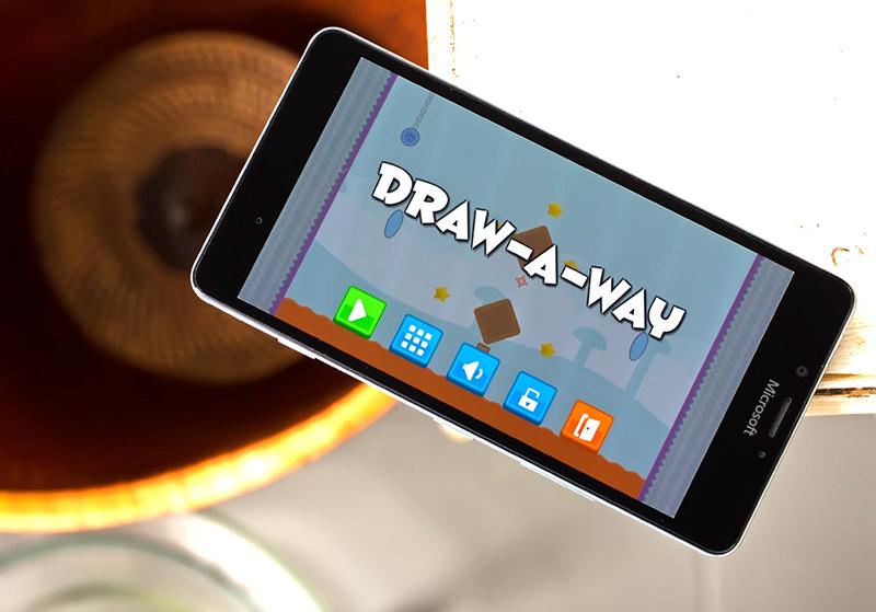 بازی معمایی Draw-A-Way به صورت رایگان و یونیورسال برای ویندوز ۱۰