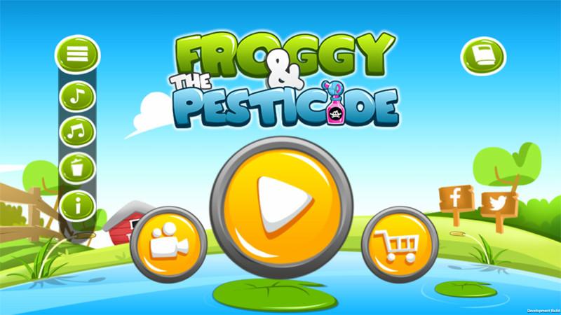 بازی دوستار طبیعت Froggy and The Pesticide برای ویندوز موبایل و پی سی