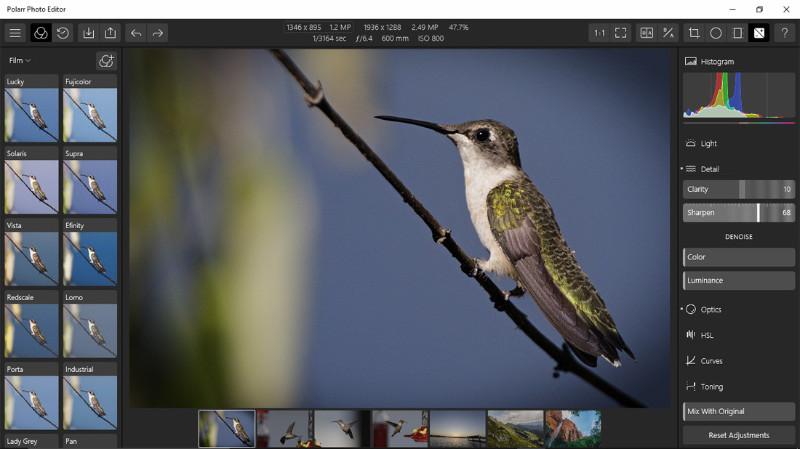 اپلیکیشن حرفه ای ویرایش عکس Photo Editor Pro | Polarr با تخفیف ۹۵%