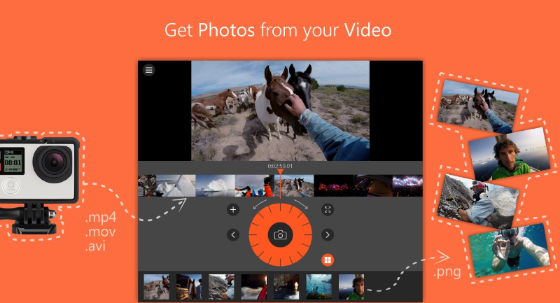 برنامه بسیار سبک Video To Photo برای عکس گرفتن از فیلم برای ویندوز ۱۰