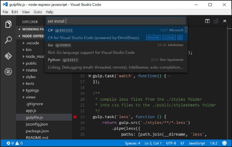 Visual Studio Code به صورت رسمی با نسخه ۱٫۰ منتشر شد!