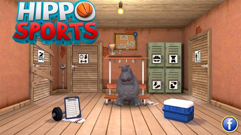 بازی یونیورسال Hippo Sports شما را مربی یک اسب آبی چاق می کند.