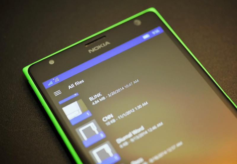 OneDrive برای ویندوز ۱۰ موبایل با قابلیت های جدید بروز شد