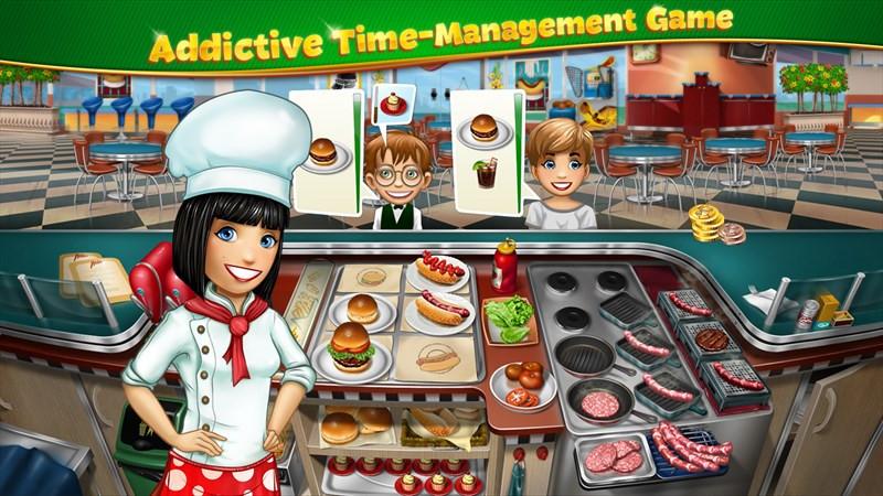 بازی جذاب و یونیورسال Cooking Fever را از دست ندهید!