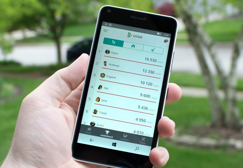 برنامه تندرستی متصل به شبکه اجتماعی inKin برای ویندوز ۱۰ موبایل