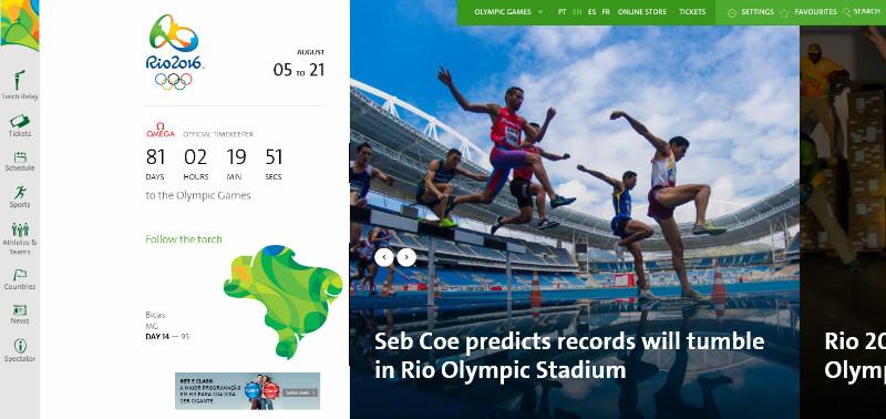 اپلیکیشن رسمی المپیک ۲۰۱۶ برزیل برای ویندوز ۱۰ موبایل منتشر شد.