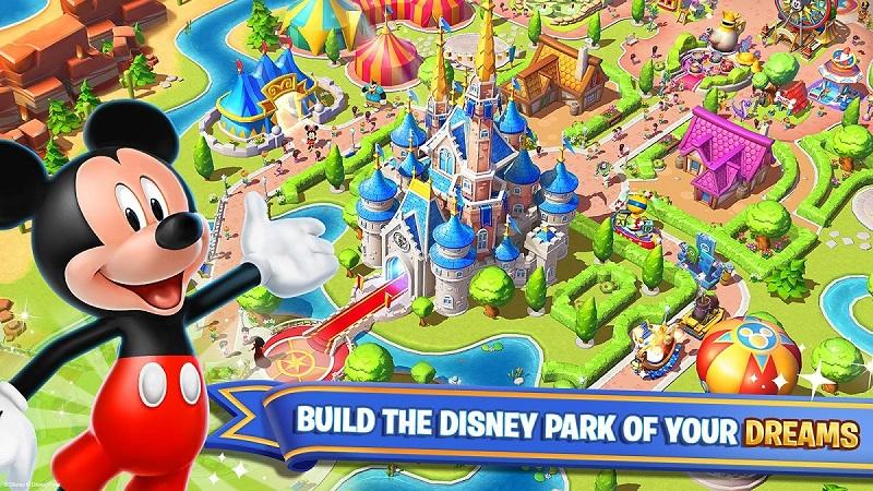 بازی جذاب Disney Magic Kingdoms برای کودکان و علاقه مندان دیزنی