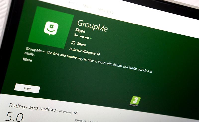 نسخه یونیورسال مسنجر GroupMe برای ویندوز ۱۰ PC منتشر شد