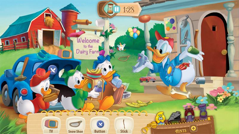 بازی دوست داشتنی و شاد Disney Find 'n Seek برای کودکان