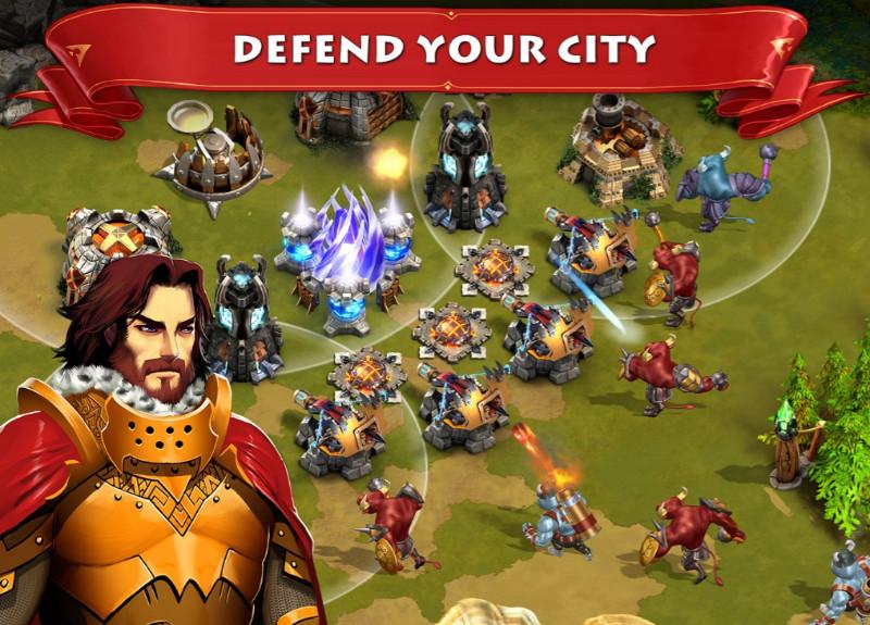 Storm of Wars – Sacred Homelandd بازی استراتژی رایگان