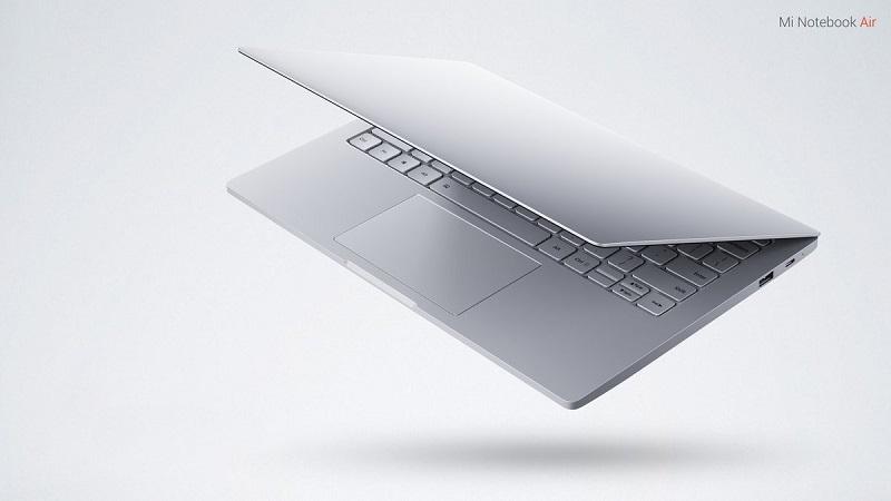 نوت بوک زیبای کمپانی Xiaomi با نام Mi Notebook Air رونمایی شد.
