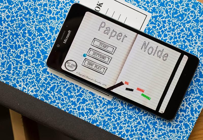 بازی سبک و جذاب PaperNoide برای سرگرمی شما!
