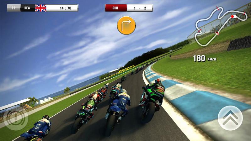 معرفی بازی موتور سواری SBK16 Official Mobile Game