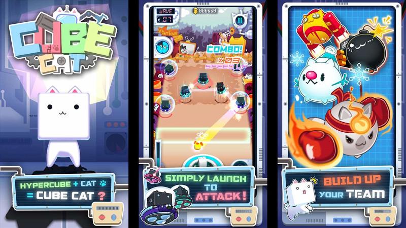 بازی با مزه و جذاب Cube Cat برای ویندوز ۱۰ موبایل و PC