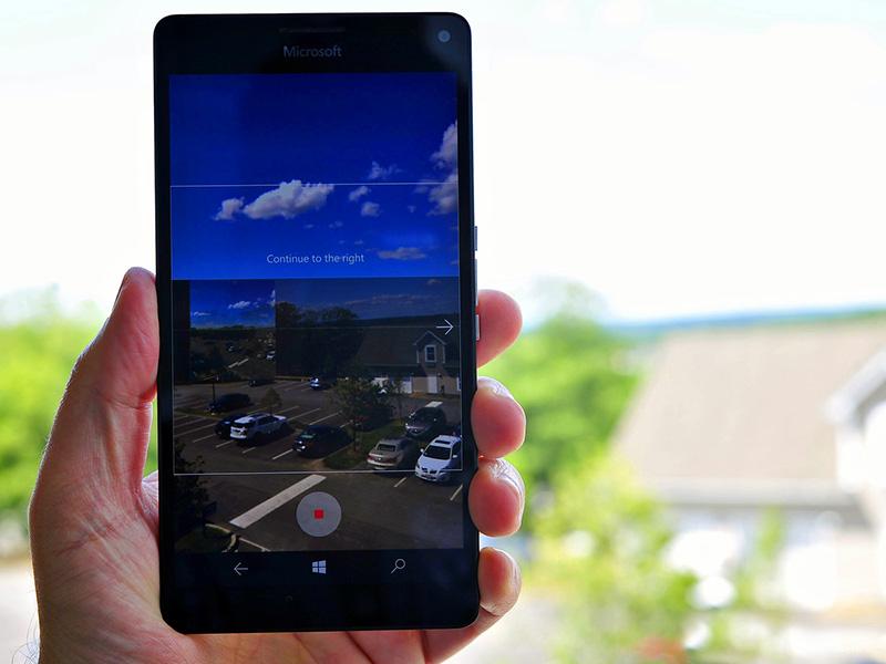 قابلیت عکاسی پانوراما برای تمامی کاربران ویندوز ۱۰ موبایل