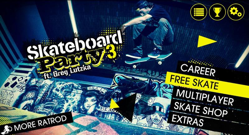 دانلود بازی Skateboard Party 3 Lite ft. Greg Lutzka به صورت UWP
