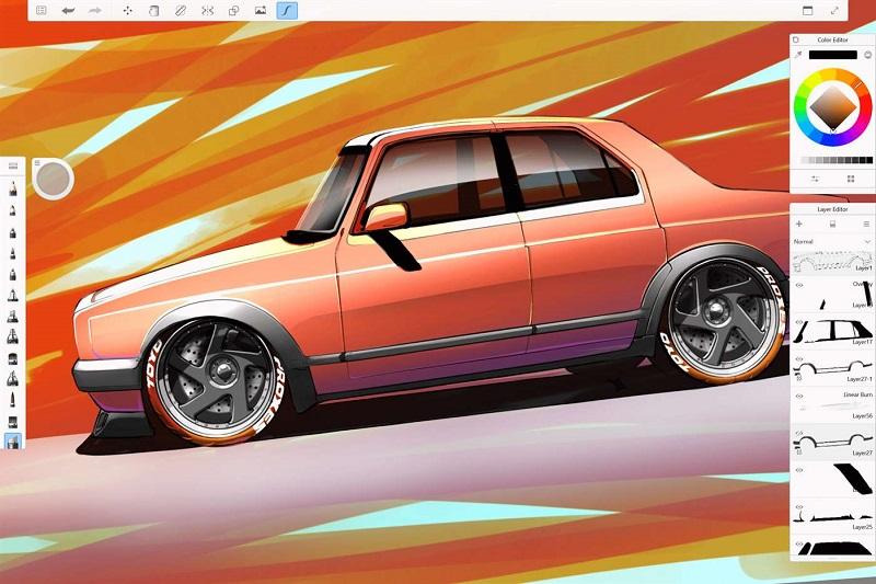 نسخه جدید Autodesk SketchBook با پشتیبانی از Pen Mode بروز شد.