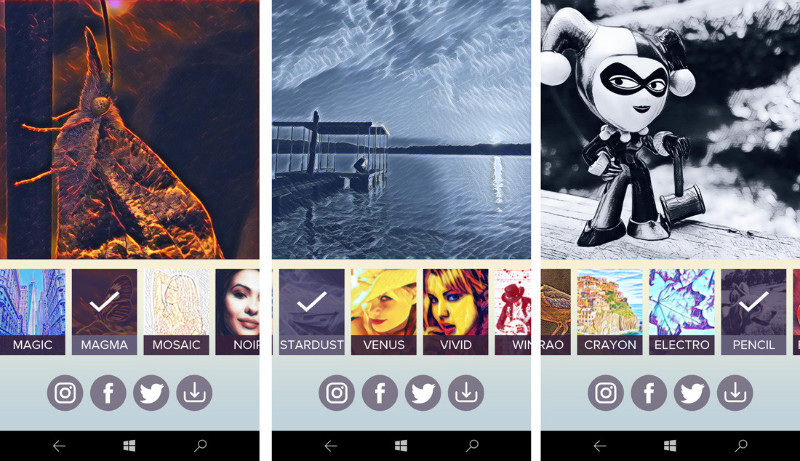 Matissa اپلیکیشن یونیورسال فیلتر عکس به صورت رایگان.