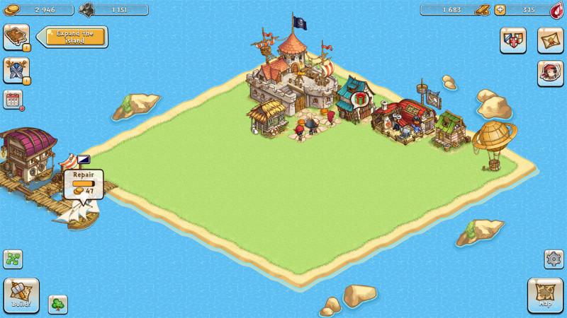 بازی جذاب و یونیورسال Pirates of Everseas مخصوص ویندوز ۱۰