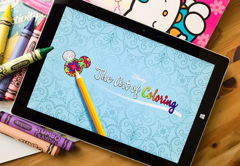دانلود کتاب رنگ آمیزی زیبا و دوست داشتنی Art of Coloring by Disney