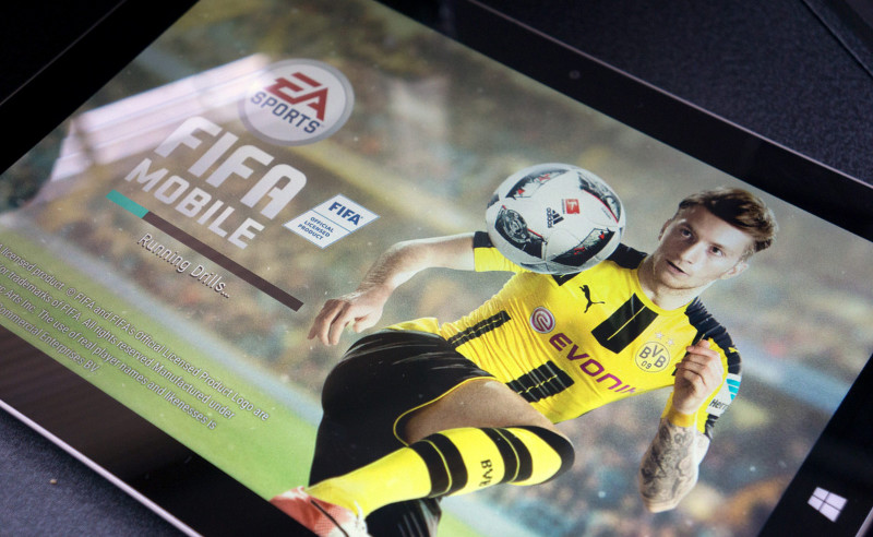FIFA 17 Mobile Football برای تبلت های ویندوزی نیز رایگان منتشر شد.