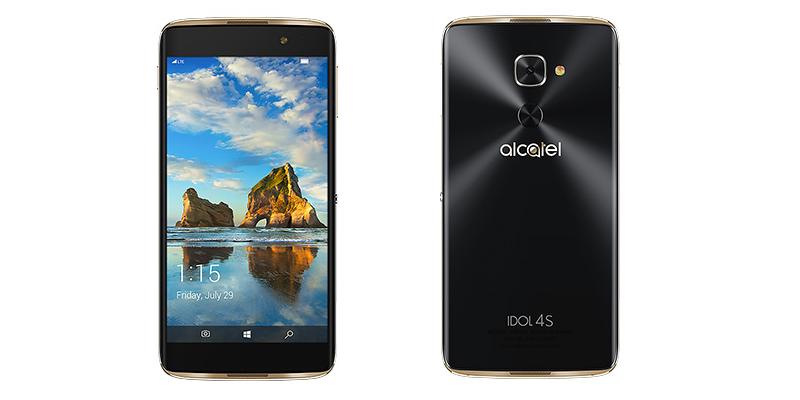 گوشی قدرتمند Alcatel با نام Idol 4S با سیستم عامل ویندوز ۱۰