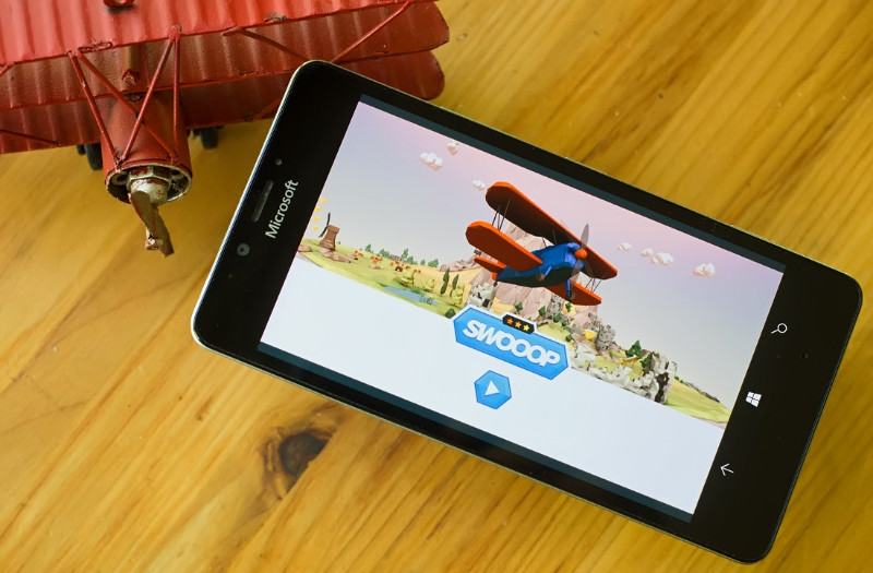 SWOOOP بازی جذاب و یونیورسال ویندوز ۱۰ موبایل، تبلت و PC