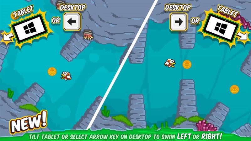 Lost Fishy Free بازی سبک و سرگرم کننده برای ویندوز ۱۰ موبایل و PC