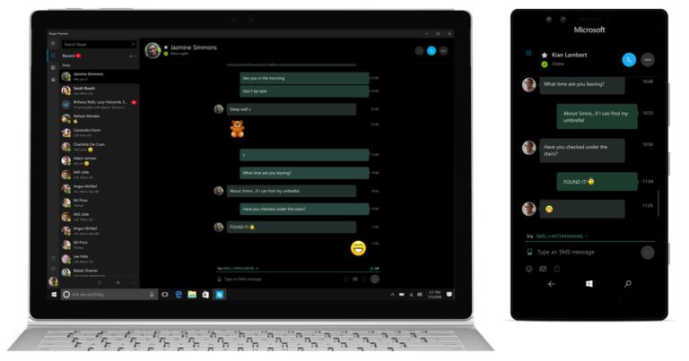 چطور از طریق کامپیوتر به کمک Skype اس ام اس ارسال و دریافت کنیم؟