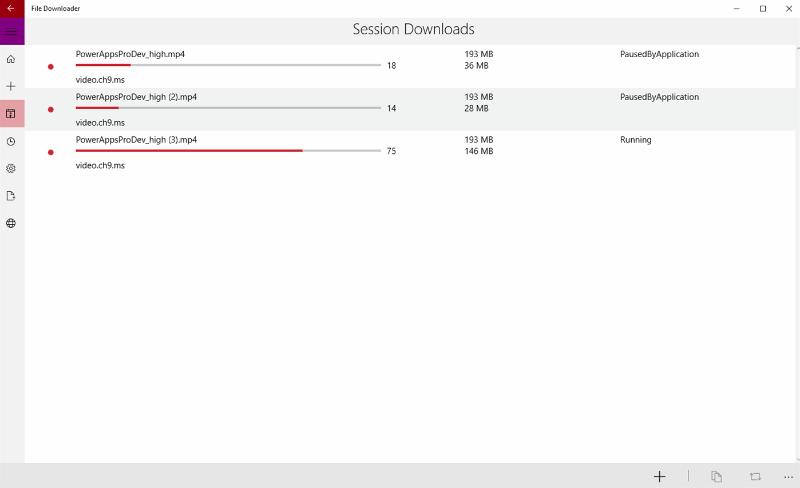 انتشار نسخه یونیورسال دانلود منیجر File Downloader برای ویندوز ۱۰