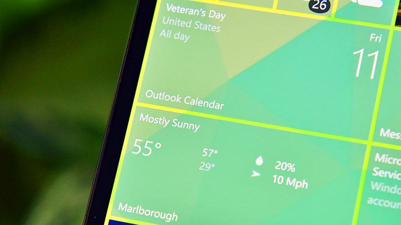 قابلیت Chase-able و Transparent Tiles در آپدیت جدید MSN Weather و News