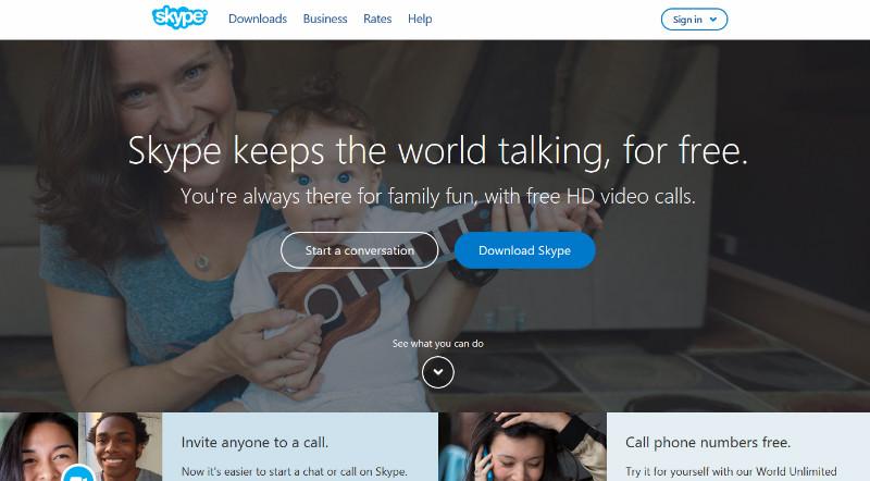 ازین پس هر کسی می تواند حتی بدون ساختن اکانت در Skype چت کند.